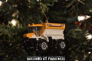 Custom 1/64th Scale Farm Sowing Machine Seeding Truck Christmas Ornament CAT