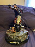 cyberpunk 2077 collectors edition statue