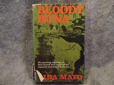 Bloody Buna Lida Mayo 1974 Vintage Hardcover Book Doubleday & Company Inc