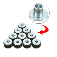 10 x Convenient 6mm Universal Motorcycle Rubber Grommets Bolt Kit Replacement