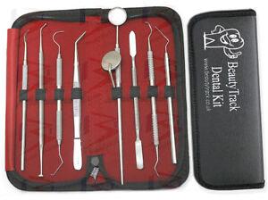 Professional Dental Oral Care Hygiene Tools Plaque Calculus Remover Scraper Kit