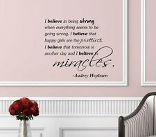 Inspirational Quotes Vinyl Wall Decal, w/ Transfer Tape, For Any Hard Surface