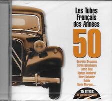 CD album: Compilation: Les Tubes Français des Années 50. Universal. R