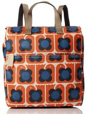 ORLA KIELY LOVEBIRDS PRINT LARGE BACKPACK TOTE HANDBAG