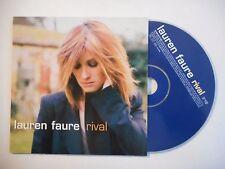 LAUREN FAURE : RIVAL ♦ CD SINGLE PORT GRATUIT ♦