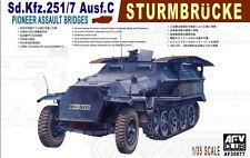 1/35 AFV Club German Sd.Kfz.251/7 Ausf.C Pioneer Assault Bridges #35077