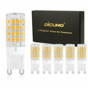 1-10X G9 LED Bulb 4W (40W Halogen Equivalent), 450LM 85-265V G9 Ceramic Base lot