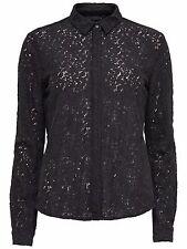 45/4 NUOVO only Punta Da Donna Camicia Top Top onllacie L/S lace shirt BOX mis. 38