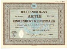 Lot: 5 Dresdner Bank  AG  1952  Berlin / Frankfurt