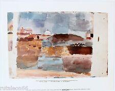 """Litografía PAUL KLEE """"Davanti le porte di Kairouan"""" 24x30cm Migneco-Smith 31687"""