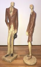 GREAT GATSBY, PAIR OF STATUES