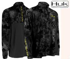 HUK Kryptek icon 1/4 Zip Shirt long sleeve baselayer quick dry wicking mens xl