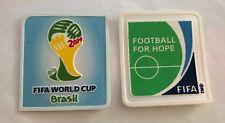 World cup Brasil 2014 Patch Football for hope batch soccer jersey shirt Germany