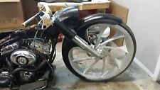 "30"" inch Front Boy Bagger Wrapped Fender Harley Davidson Touring 94-16"