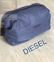 🆕💙💜💙DIESEL TRAVEL TOILETRY WASH POUCH BAG BLUE FOR HIM BRAND NEW 💙💜