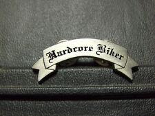 Pin Hardcore Biker Abzeichen - 1 x 4,5 cm