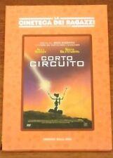 DVD CORTO CIRCUITO LA CINETECA DEI RAGAZZI FUORI CATALOGO