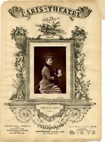 Lemercier, Paris, Theatre, Margeurite Donvé Vintage print Photoglyptie  8x12