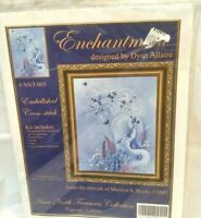 Unicorn Enchantment Stamped Cross Stitch Kit NNT-005 Dyan Allaire NOS 2001