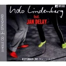 "UDO LINDENBERG FEAT. JAN DELAY ""REEPERBAHN 2011 (WHAT IT'S LIKE)""  CD SINGLE NEW"