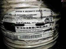 Carol E3038S 18/8C Stranded Control/Communications Cable Plenum CMP White /50ft