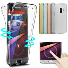 Coque TPU Integrale Silicone Protection Galaxy S9/S8/NOTE8/S7/A3/A5/J3/J5/J7