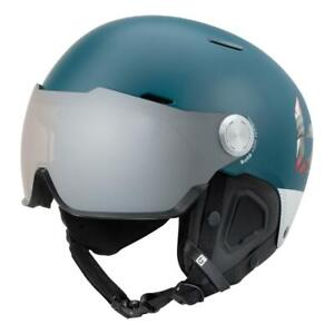 Bolle NEW Might Visor Premium Helmet Matte Navy Hawaii 55-59cm BNWT