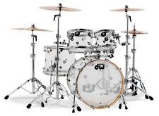 IN STOCK DW Drum Workshop Design Series Seamless ACRYLIC 5 Piece Drum Set