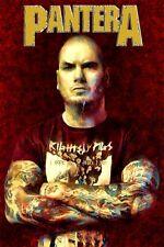 "Pantera Poster Art Print Large 20x30 ""Domination"" Phil Anselmo Free Shipping!"