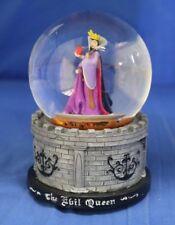 Disney Villains Evil Queen Snow White Musical Blower Snowglobe