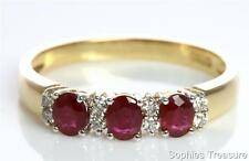 Ruby Yellow Gold 14k Fine Rings