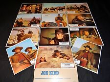 clint eastwood JOE KIDD   jeu 12 photos cinema lobby cards western  1972
