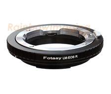 Leica M Lens to Canon RF Mount EOS R EOS RP R5 R6 Ra Mirrorless Camera Adapter