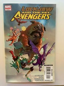 Lockjaw and the Pet Avengers #1 1st Throg Marvel Comics 2009 - Auction 3