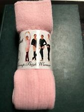 Body Wrappers Women's Leg Warmers Pink One Size New 36 Inch