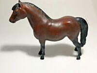 Vintage Breyer Black & Brown Model Horse / Pony Breyer Holding Co. USA See Pics!