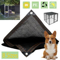 Dog Kennel Puppy Cat Rabbit Pet  Crate Cover Cage Home 80% Sunbloc