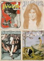572 ISSUES OF JUGEND VINTAGE GERMAN ART NOUVEAU MAGAZINE JUGENDSTIL VOL1 ON 2DVD