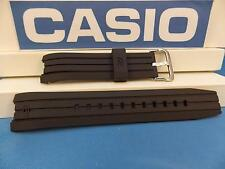 Casio Watch Band EFR-528 Edifice Tachymeter Black Rubber Strap. Watchband