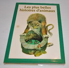 les PLUS BELLES HISTOIRES D'ANIMAUX Book  Alena Benesova , Karel Franta-rj