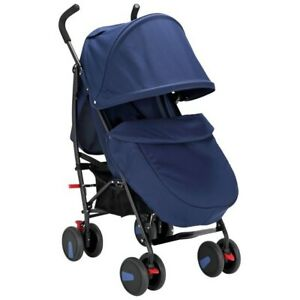 Cuggl Maple Pushchair - Navy With Raincover