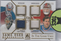 Roy/Hasek/Joseph/Richter 2015 ITG Quad Gold Game Used Memorabilia 12/25 SP