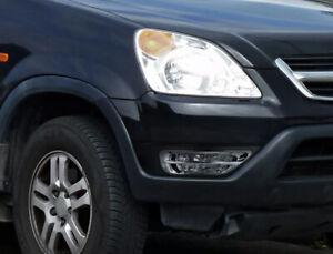 Fits 2002-2004 Honda CR-V CRV Clear Fog Lights Bumper Lamps Pair+Switch+Bulbs