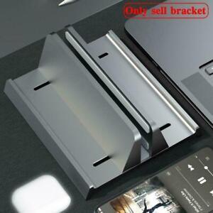 Vertical Laptop Stand Bracket Non-slip Notebook PC Desk Holder W6D9