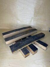 Oak Whisky Barrel Stave Pen Blanks x6 Extra Long