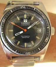 Gents 1960s SS Tissot Visodate Seastar Auto Bracelet Watch 784-1 serviced