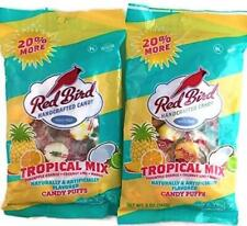 Red Bird Tropical Mix Candy Puffs | Pineapple Orange Coconut Lime Mango | 2...