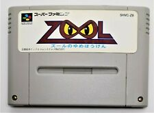Zool Video Game for Nintendo Super Famicom JAPANESE TESTED