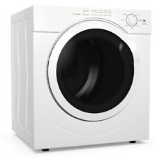 Costway 27Lbs Electric Tumble Compact Laundry Dryer Stainless Steel 3.21 Cu. Ft.
