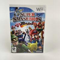Super Smash Bros Brawl Game for Wii Featuring Mario + Pikachu + Sonic + Zelda